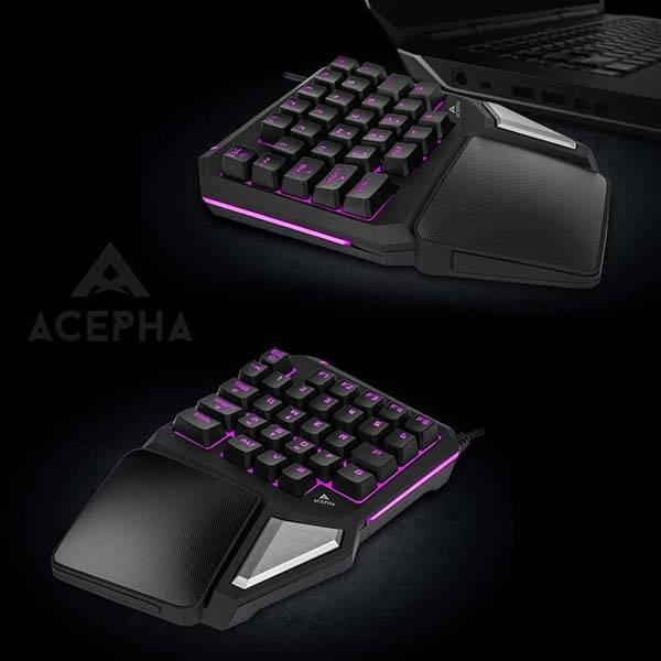 Acepha T9 Pro Programmable Gaming Keypad