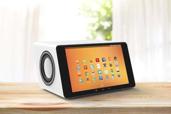 Aivia Smart Wireless Speaker With Built-in Touchscreen, Subwoofer and More