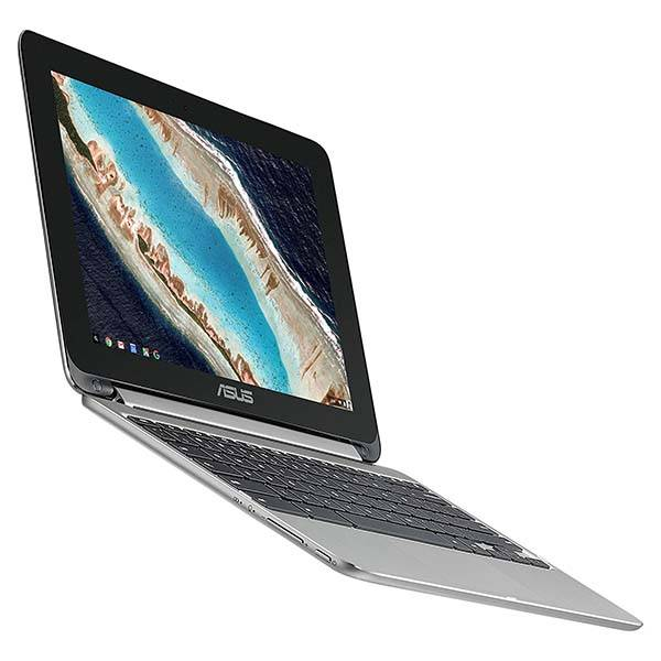 """ASUS Chromebook Flip C101PA with 10.1"""" Touchscreen, 4GB ..."""