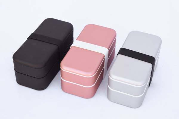Bento Stack Storage Box for Apple Gadgets