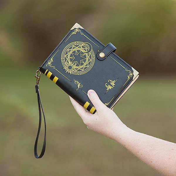 Black Magic Spell Book Billfold