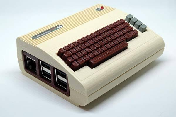 The Commodore 64 3D Printed Raspberry Pi Case