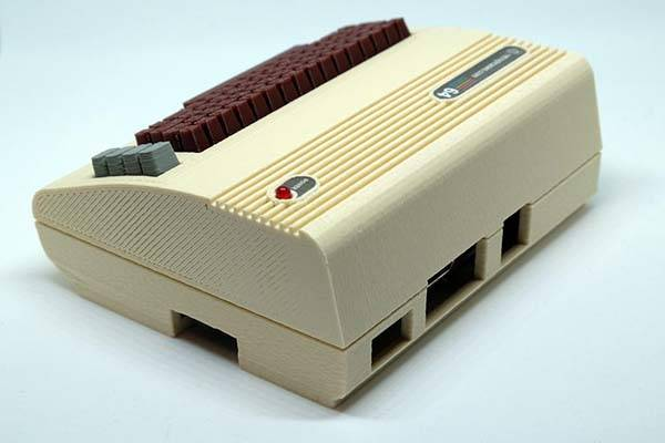 The Commodore 64 3D Printed Raspberry Pi Case