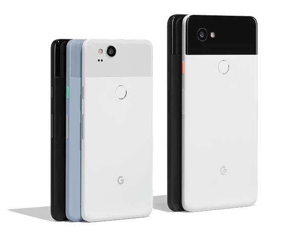 Google Pixel 2 and Pixel 2 XL Smartphones