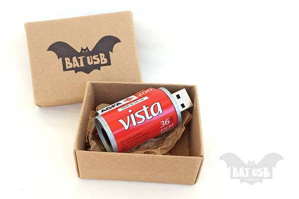 Handmade Vintage Film Roll USB Flash Drive