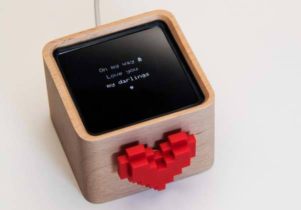 Lovebox Message Box Lets You Receive Love Messages in Romantic Way
