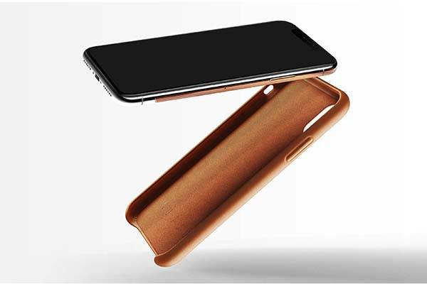 Mujjo Minimal iPhone X Leather Case