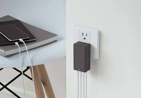 Native Union Smart 4 USB Foldable Wall Charger