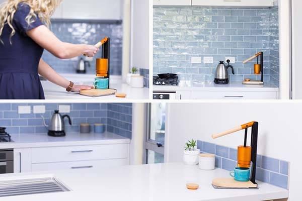 Newton Espresso Lever-Press Espresso Maker