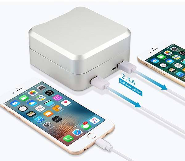 Nexgadget Apple Watch Charging Case Doubles as Portable Power Bank