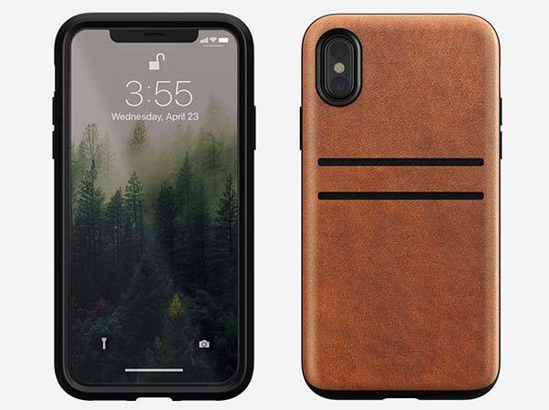 Nomad Wallet iPhone X Leather Case