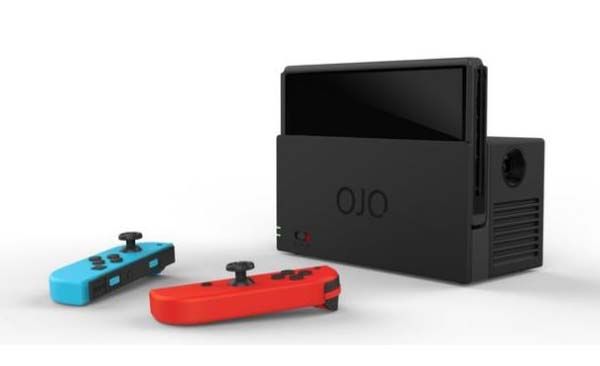 OJO Portable Nintendo Switch Projector