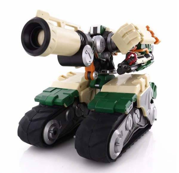 Transformable Overwatch Bastion Action Figure