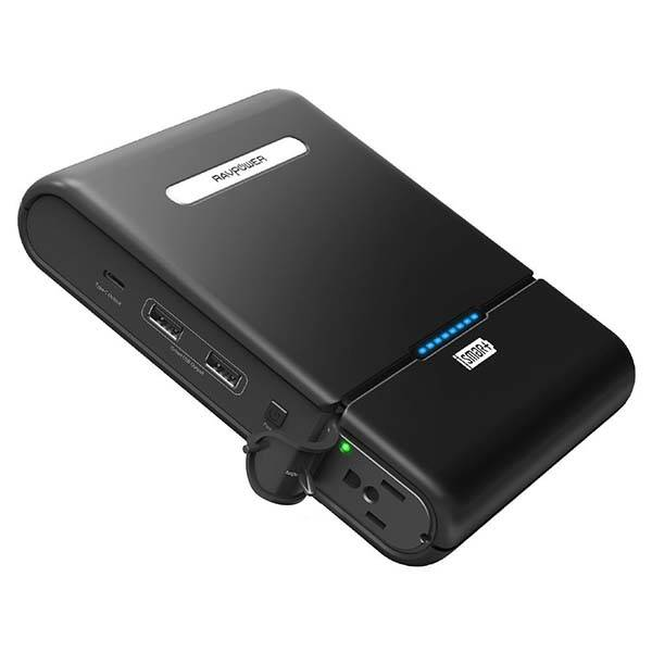 RAVPower Portable Charger with AC Outlet and USB-C Port