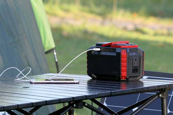 S270 Portable Charging Station With Optional Solar Charger