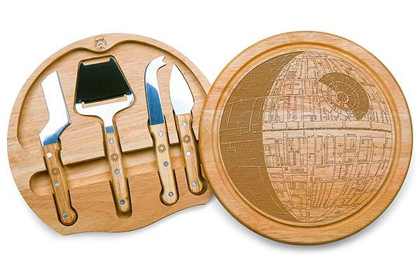Star Wars Death Star Cheese Board with Cheese Tools
