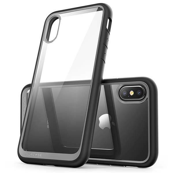 Supcase Unicorn Beetle Style Hybrid Clear iPhone X Case