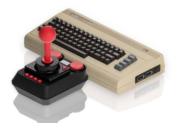 The C64 Mini Game Console Based on Commodore 64