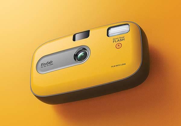Concept One-Time-Use Kodak Disposable Camera