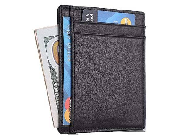 Travelambo Slim RFID Leather Wallet