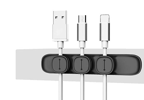 Unooe Magnetic Desk Cable Organizer