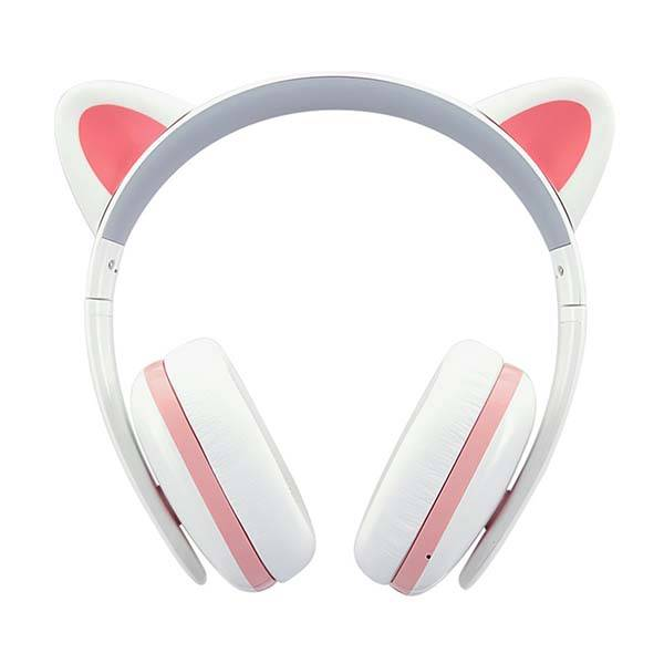 the bluetooth cat ear headphones are priced at usd if you re. Black Bedroom Furniture Sets. Home Design Ideas