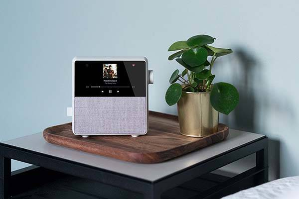 Circa Smart Alarm Clock with Wireless Speaker