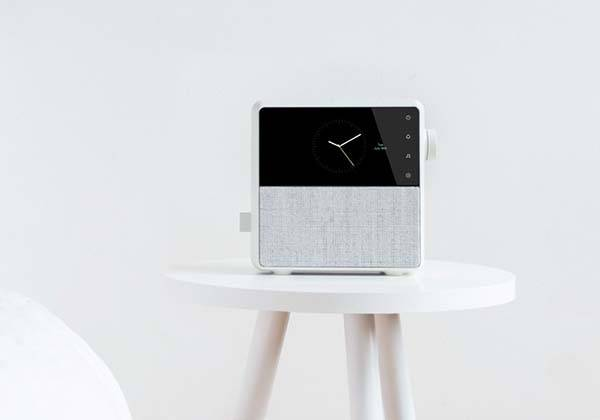 Circa Smart Alarm Clock with Wireless Speaker