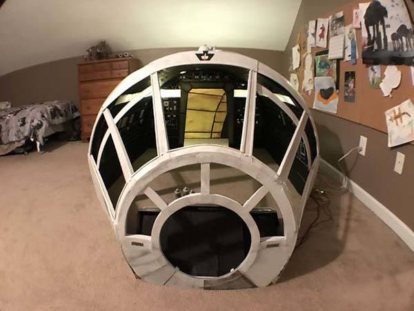 Diy Star Wars Millennium Falcon Playhouse Gadgetsin