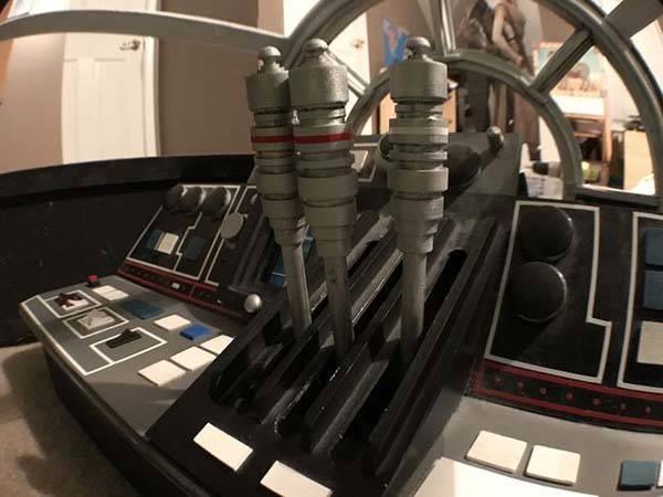 DIY Star Wars Millennium Falcon Playhouse