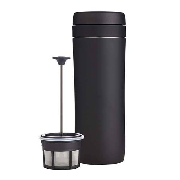 Espro Stainless Steel Travel Mug with Coffee Maker