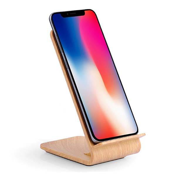 FSLabs Bamboo Wireless Charging Dock