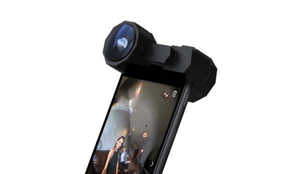 Fusion Lens Turns iPhone into 360 Camera