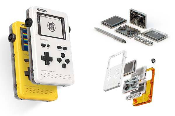 GameShell Open Source Modular Handheld Gaming Console
