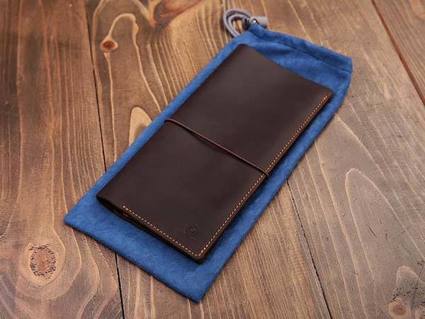 Genuine Leather Boarding Pass Holder
