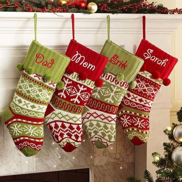Handmade Customizable Christmas Stockings