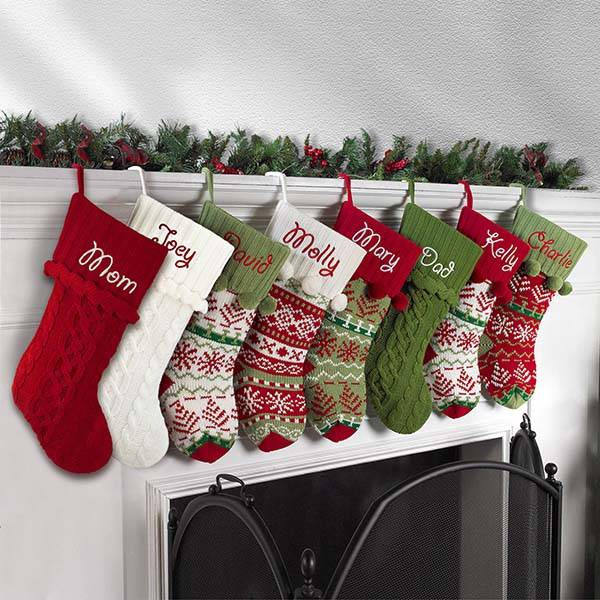 Handmade Customizable Christmas Stockings