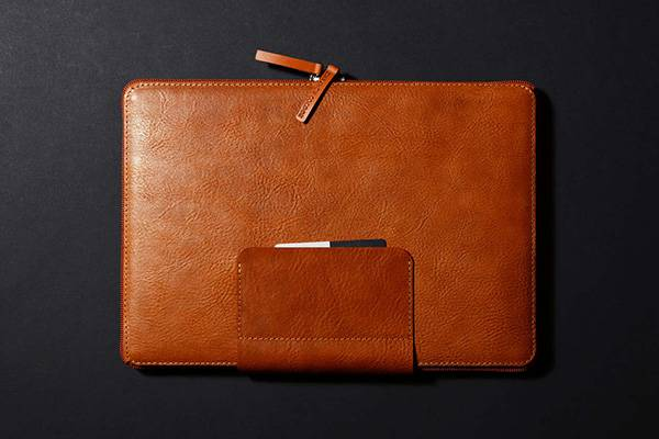 Handmade Leather MacBook Pro Leather Sleeve