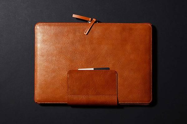 Handmade Leather MacBook Pro Leather Sleeve