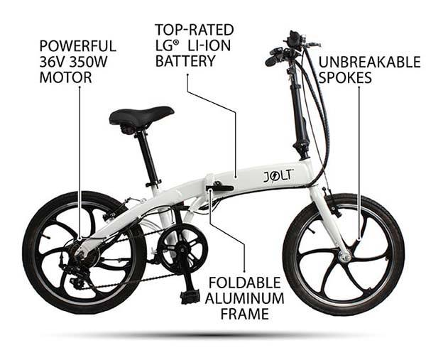 Jolt Foldable Electric Bike