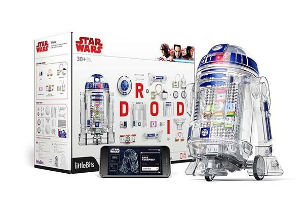 Star Wars App-Enabled R2-D2 Droid Inventor Kit