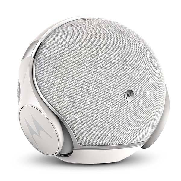 Motorola Sphere Plus Bluetooth Speaker with Wireless Headphones