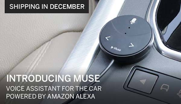 Muse Amazon Alexa Voice Assistant for Car