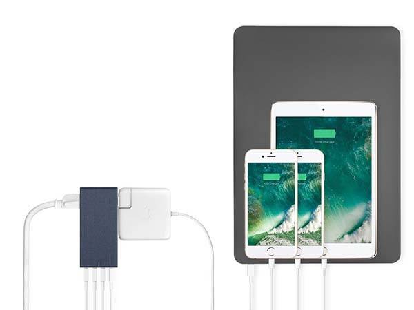 Native Union Smart Hub 4-Port USB Wall Charger with AC Outlets