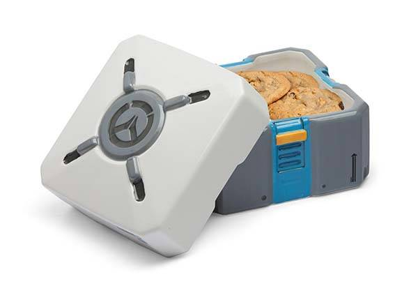 Overwatch Loot Box Ceramic Cookie Jar
