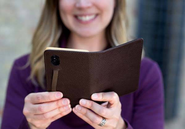 Pad and Quill Little Pocket Book iPhone X Wallet