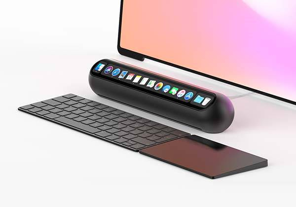 Taptop Mini Desktop Computer with Touch Bar