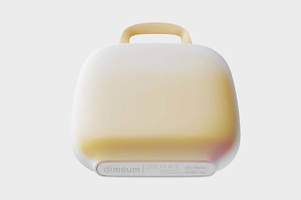Dimsum Inspired Concept Portable SSD