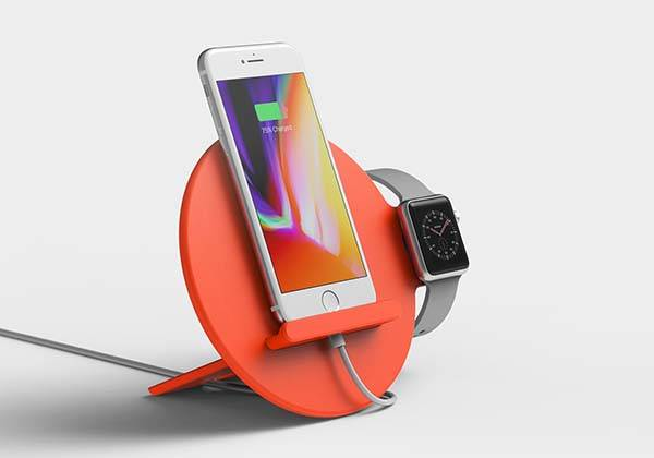 The Soft Rugged Series Docking Station For Iphone And