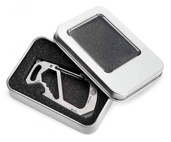 The Titanium EDC Keychain with Multi-Tool